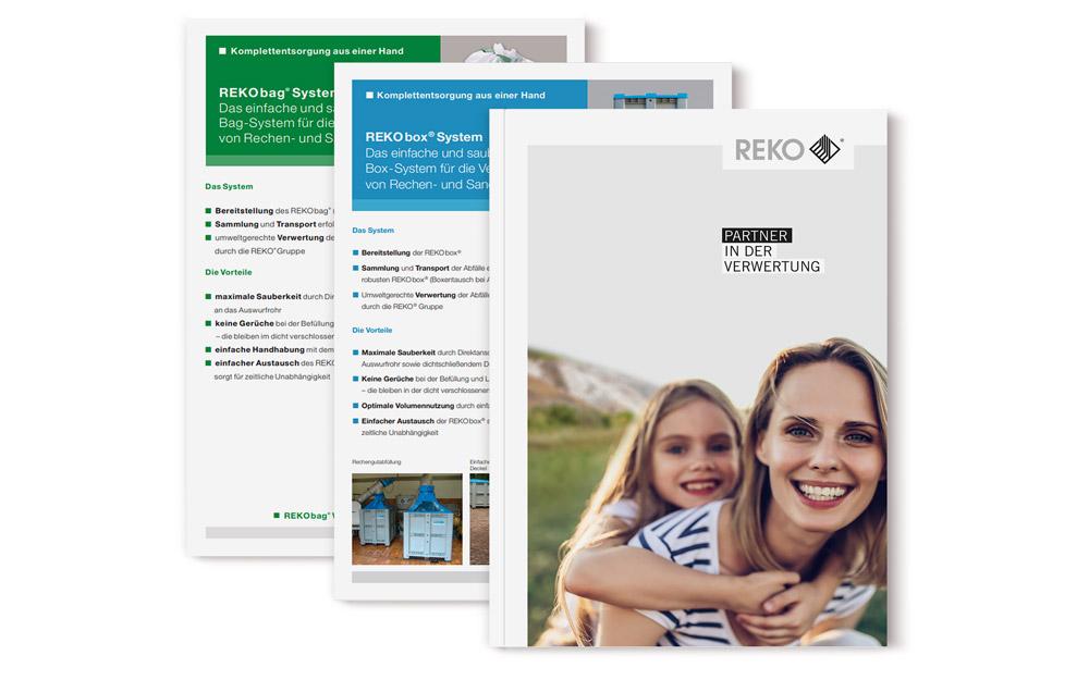 Infomaterial der REKO GmbH