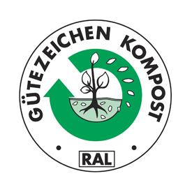 Gütezeichen Kompost RAL