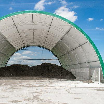 Anlage für biologische Behandlung für die Produktion hochwertiger Brennstoffe
