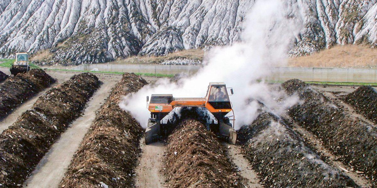 Kompostierungsanlage für gütegesicherte Qualitätskomposte